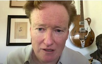 Conan O'Brien Officially Goes Stir-Crazy Telling Lame Lockdown Jokes