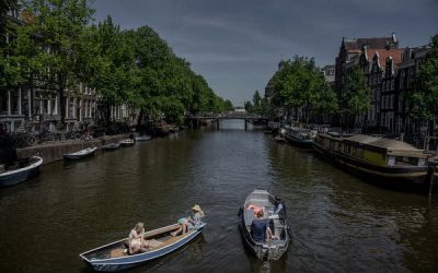 Amsterdam's Red Light Zone Stays Shut as Rest of City Edges Open