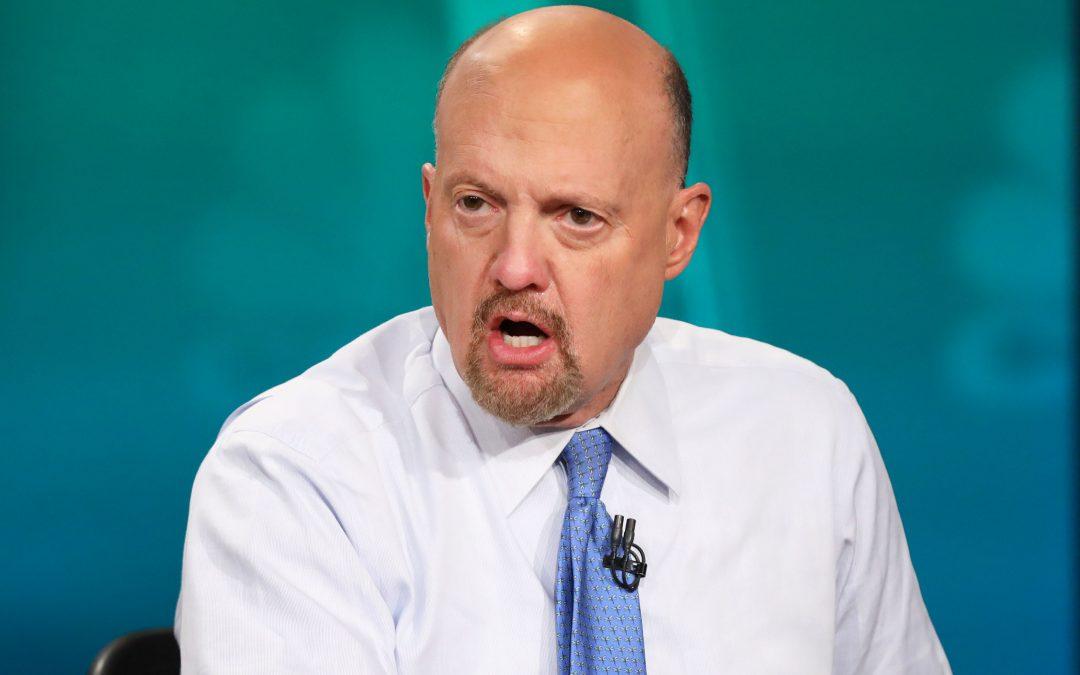 Cramer says the coronavirus has created a 'backyard trade' as Wayfair shares rise