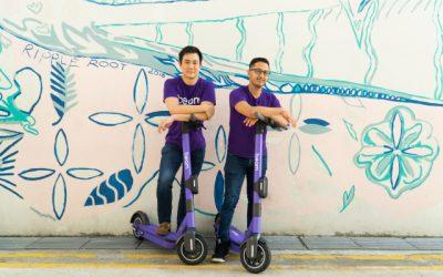 Singapore's micromobility startup Beam raises $26 million