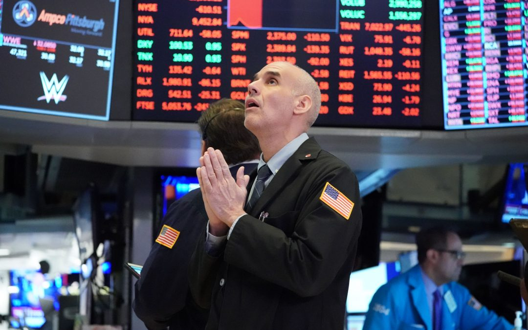 The Dow will fall back to coronavirus crash level below 19,000 before new high: CFO survey