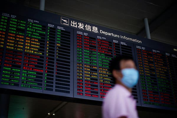 Trump Administration to Block Chinese Airlines From Flying to the U.S.