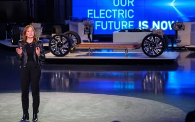What's driving GM's reported plans to develop a commercial electric van