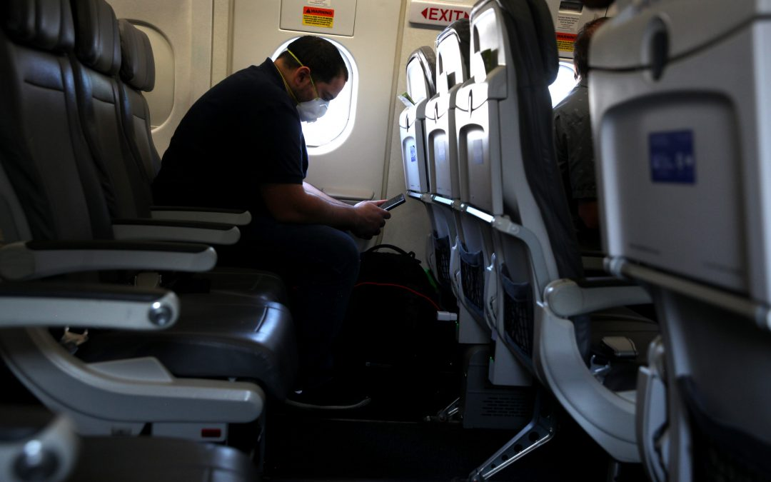 Airlines spar over social distancing on planes during pandemic