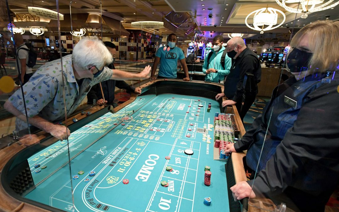 Casinos are seeing strong sales despite social distancing, Circa Resort CEO says