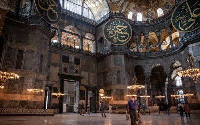 Erdogan Talks of Making Hagia Sophia a Mosque Again, to International Dismay