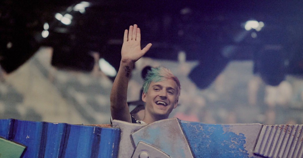 Ninja Played Fortnite on YouTube, and the Gaming World Lost Its Mind