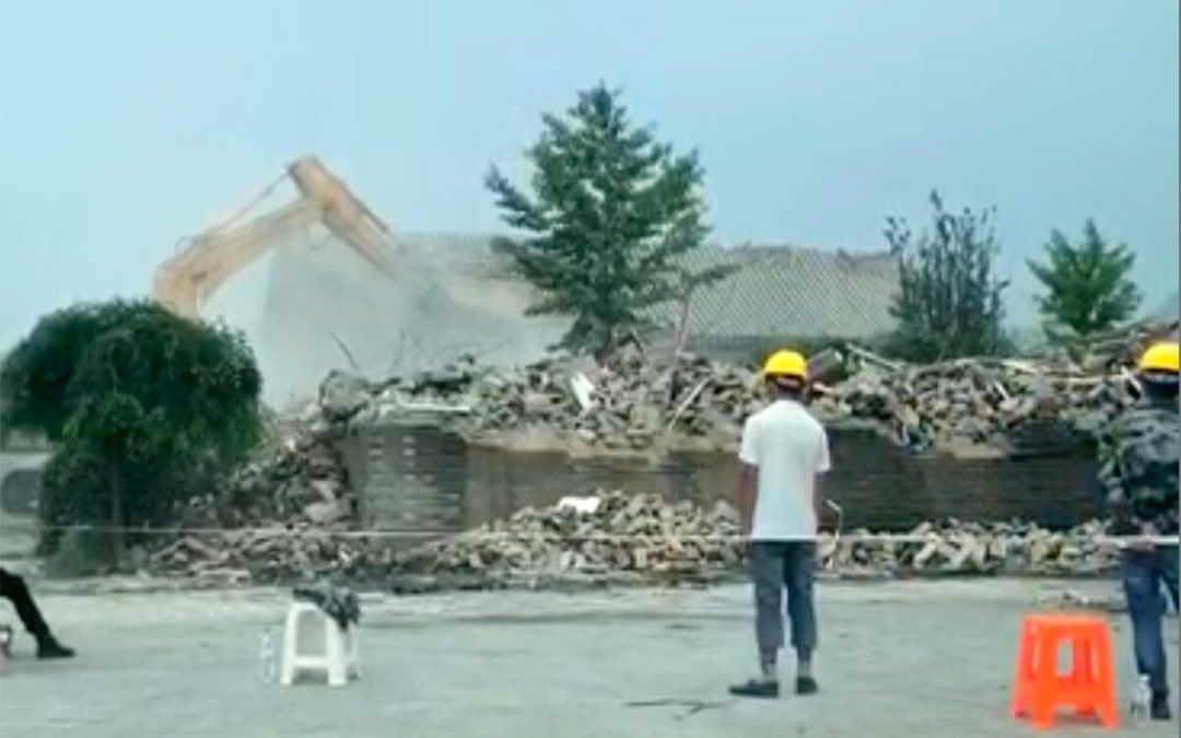 Beijing Launches Another Demolition Drive, This Time in Its Bucolic Suburbs