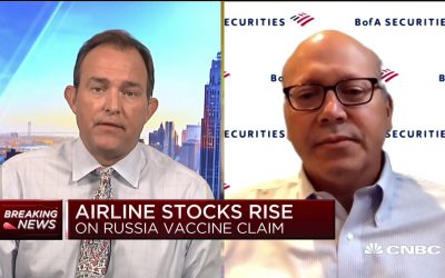 Global air traffic levels could return to 2019 standards by 2023: BofA Securities