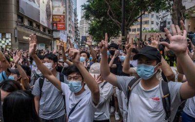 Hong Kong Officials Condemn and Mock Trump Administration Sanctions