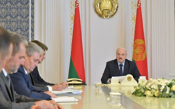 Workers Join Belarus Protests, as Leader's Base Turns Against Him
