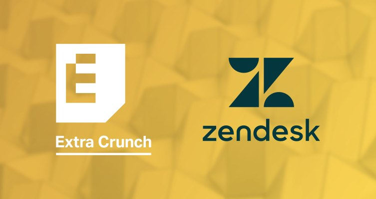 Extra Crunch Partner Perk: Get 6 months free of Zendesk Support and Sales CRM