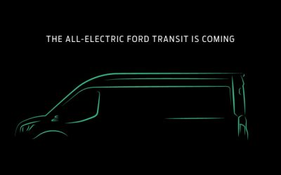 Ford will reveal its all-electric Transit van in November