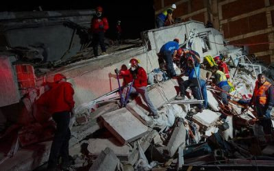 In Turkey, a Frantic Rescue Effort After a Deadly Earthquake