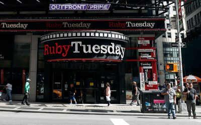 Ruby Tuesday, Hit By COVID-19 Closures, Files For Bankruptcy