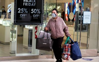 COVID-19 Keeps Black Friday Crowds Thin, Shoppers Shift To Online