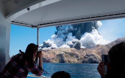 New Zealand Announces Charges in Deadly White Island Volcano Eruption