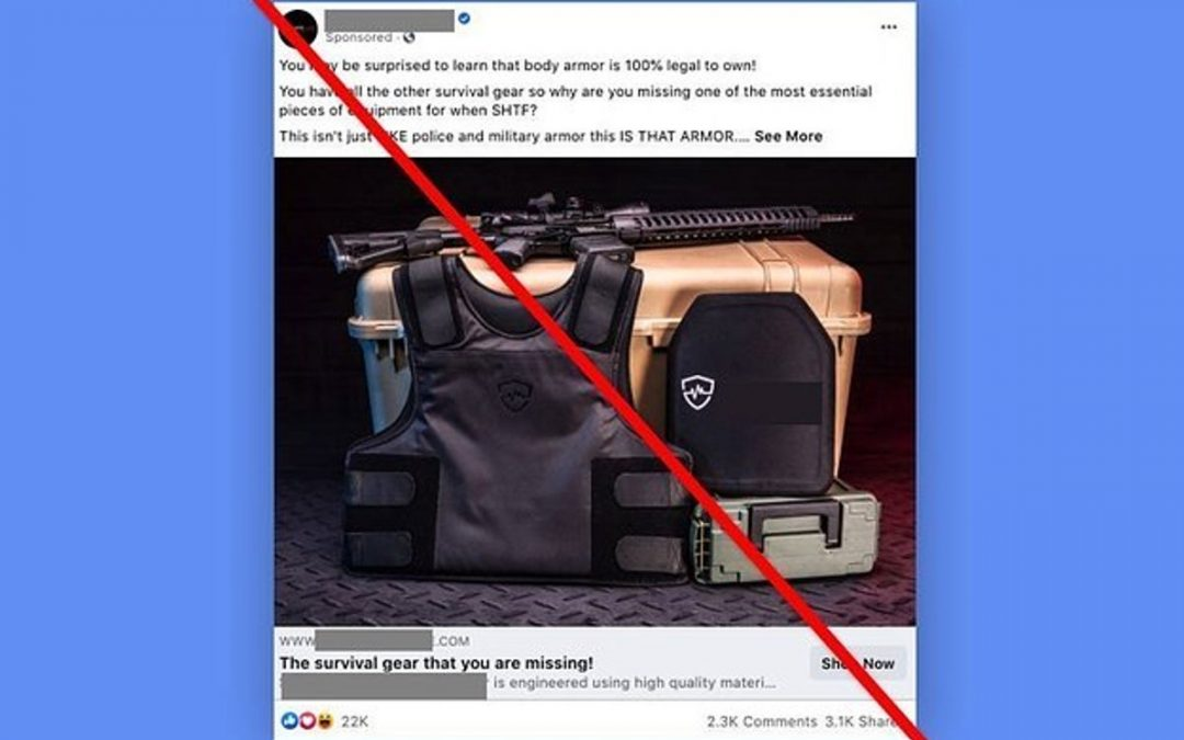 Facebook Pauses Ads For Gun Accessories And Military Gear After Complaints From Lawmakers And Employees