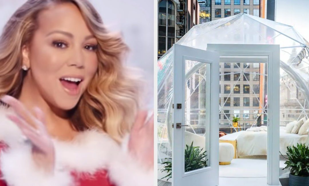 Mariah Carey Is Hosting A New Year's Eve Night In A Glass Igloo Under The Ball Drop
