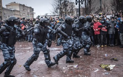 Pro-Navalny Protests Sweep Russia in Challenge to Putin