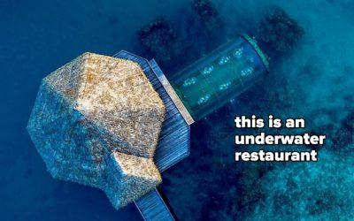 This Maldives Resort Is Partially Underwater, And Wow, My Wanderlust Just Got Worse