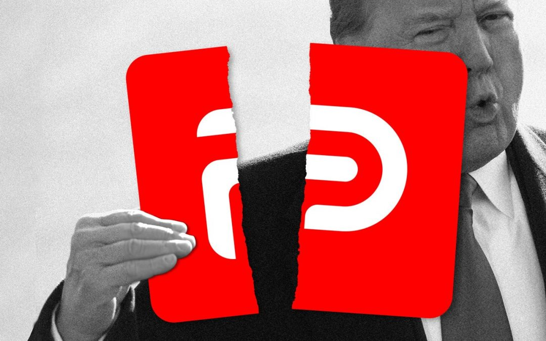 Donald Trump's Business Sought A Stake In Parler Before He Would Join