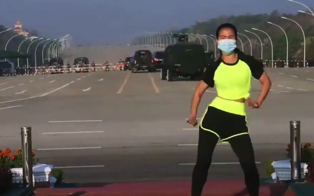 Yes, This PE Teacher Really Danced Through The Coup In Myanmar