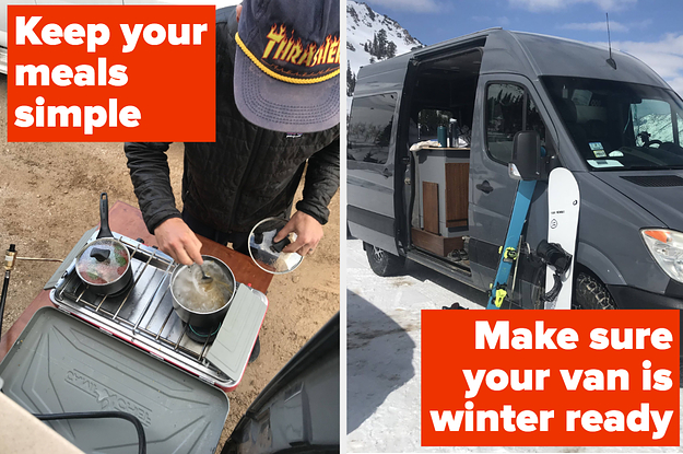 I Rented A Van To Test Out Winter #VanLife And Here Are 24 Things I Learned