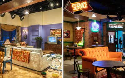 You Can Stay Overnight At The Friends Experience, So BRB, I'm Booking
