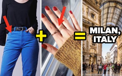 Design A Posh Outfit And I'll Tell You Which Fashion-Forward City You Should Visit Next