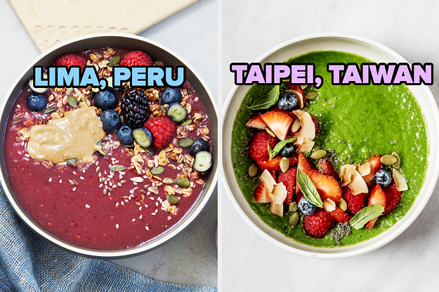 Make A Smoothie Bowl And We'll Give You An Underrated Vacation Destination