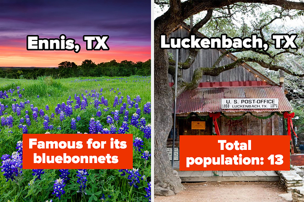 20 Of The Best Small Towns In Texas That Are Absolutely Worth Visiting