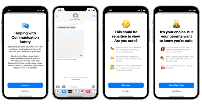 New Apple technology will warn parents and children about sexually explicit photos in Messages