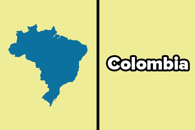 Can You Name All 12 Countries In South America?