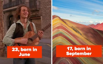 We Can Accurately Guess Your Age And Birth Month Based On Your Travel Bucketlist